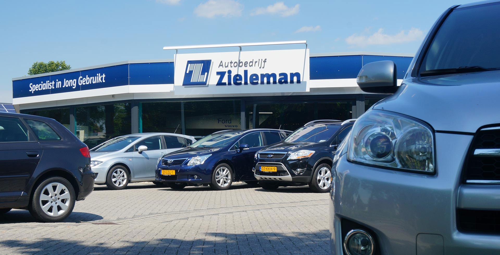 Autobedrijf Zieleman case
