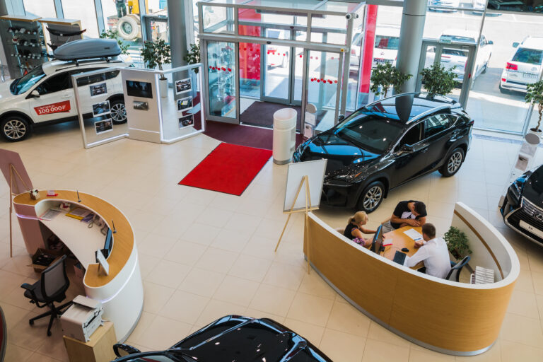store visits auto dealer